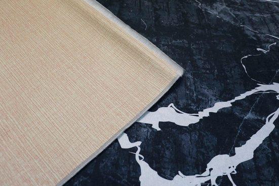 Teppich »Sultan 0063«  RESITAL The Voice of Carpet  rechteckig  Höhe 9 mm  Flachgewebe bedruckt  Marmor-Optik