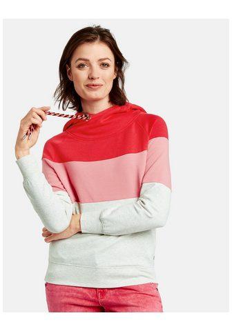 TAIFUN Sportinio stiliaus megztinis trumpomis...