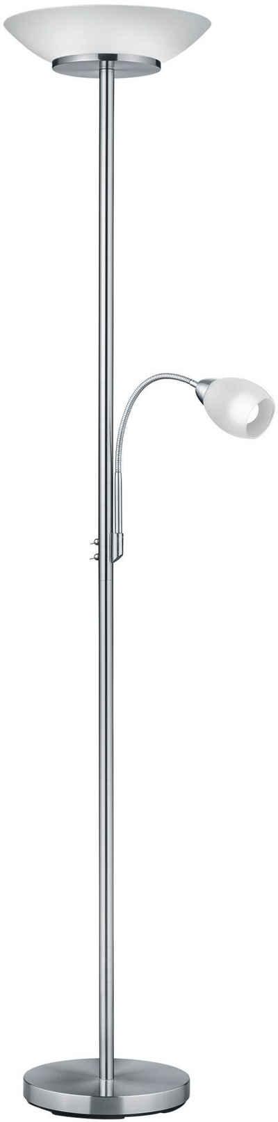 TRIO Leuchten Deckenfluter »Gerry«, Schalter,Getrennt schaltbar,Flexibel, Leuchtmittel tauschbar