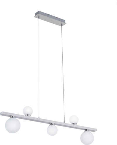 TRIO Leuchten LED Pendelleuchte »DICAPO«, Hängeleuchte, RGBW, dimmbar, Smart Home, Farbwechsel
