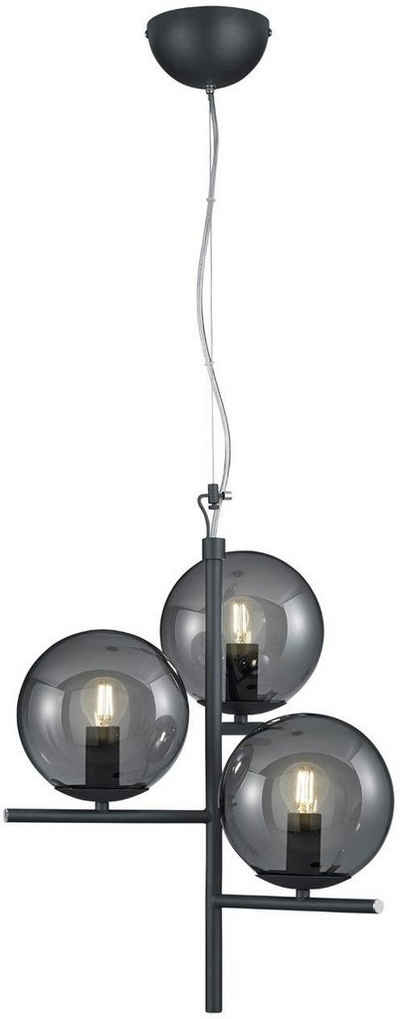 TRIO Leuchten Pendelleuchte »Pure«, Hängeleuchte, Hängelampe, Leuchtmittel tauschbar