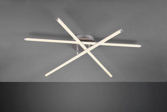 TRIO Leuchten LED Deckenleuchte »SMARAGD«, 3-flammig