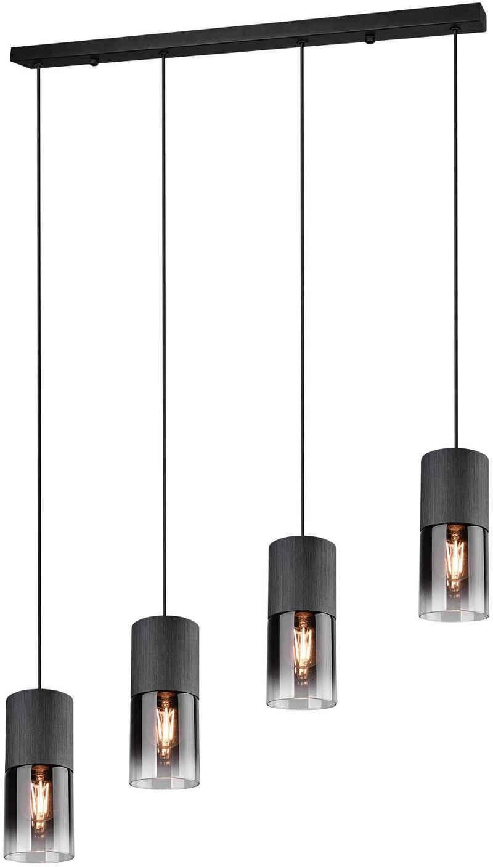 TRIO Leuchten Pendelleuchte »ROBIN«, Hängeleuchte, Hängelampe rauchfarbige Gläser