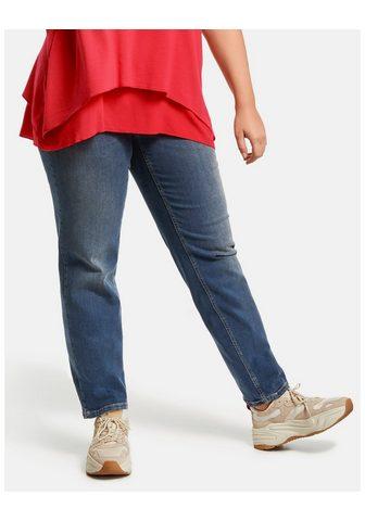 SAMOON Kelnės Džinsai ilgis »Jeans Jenny su p...