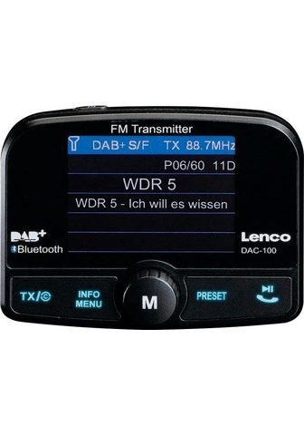 LENCO »DAC-100« Auto magnetola (Digitalradio...