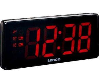 LENCO »CR-30« Radijas su laikrodžiu (FM-Tune...