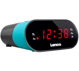 LENCO »CR-07« Radijas su laikrodžiu (FM-Tune...