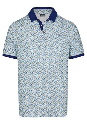 Рубашка поло с модный пальмовый узор
