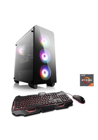 CSL Žaidimų PC | AMD Ryzen 7 3700X | Radeo...