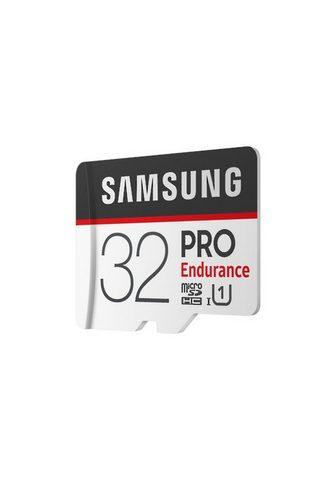 SAMSUNG PRO Endurance microSD plokštė (+SD Ada...