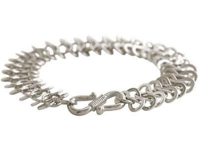 Gemshine Gliederarmband »Armband aus Infinity Links ART DECO«, Made in Spain