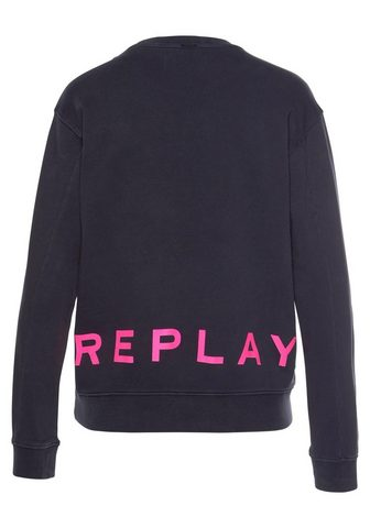 REPLAY Sportinio stiliaus megztinis