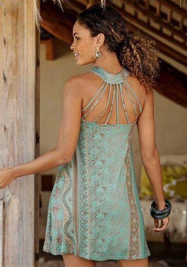 LASCANA Strandkleid mit toller Rückenansicht