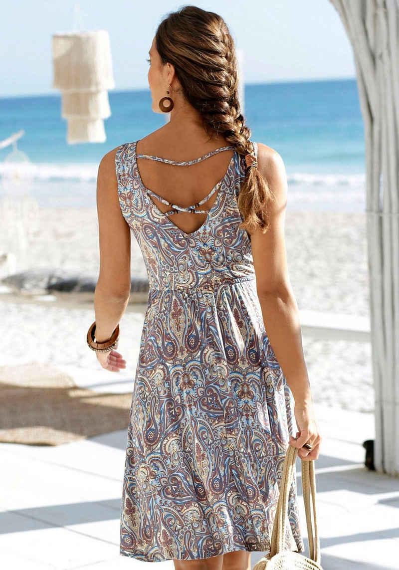 LASCANA Jerseykleid mit tiefem Rückenausschnitt