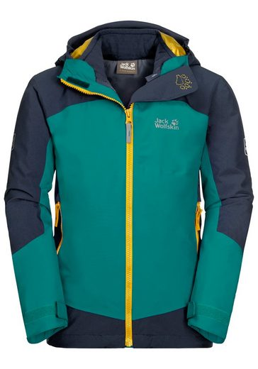 Jack Wolfskin 3-in-1-Funktionsjacke »ROPI 3IN1 JACKET KIDS«