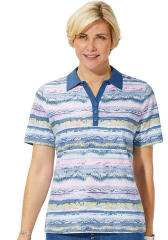 CLASSIC BASICS Polo marškinėliai iš grynos medvilnė
