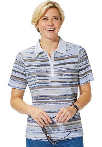 CASUAL LOOKS Polo marškinėliai im geringelten Allov...