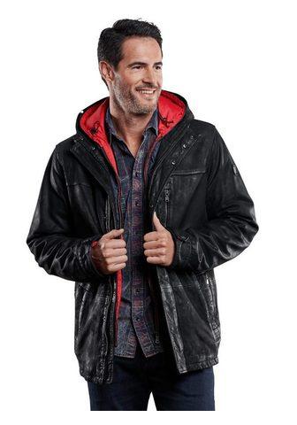 ENGBERS Куртка кожаная