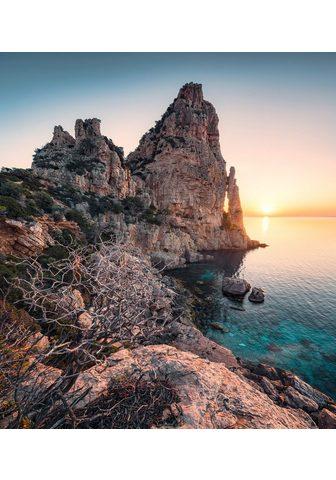 KOMAR Fototapetas »Colors of Sardegna« Bahnb...