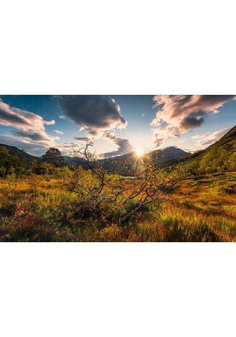 KOMAR Fototapetas »Norwegische Herbstwelten«...