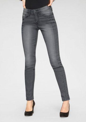 Arizona Slim-fit-Jeans Mit modischen Nahtverläufen