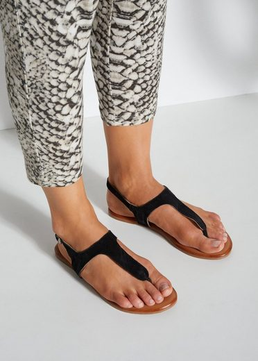 LASCANA Sandale aus softem Leder