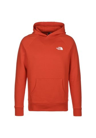THE NORTH FACE Megztinis su gobtuvu »Raglan Red Box«