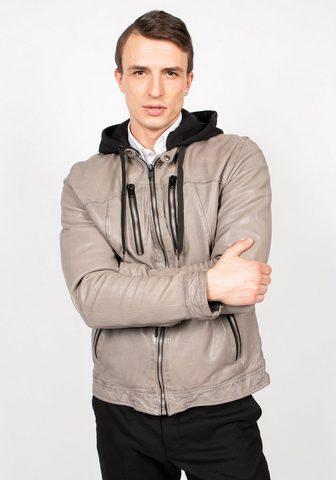 Куртка кожаная »Nick-FN«