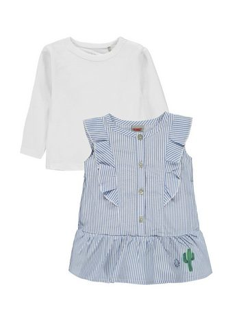 KANZ Rinkinys: suknelė ir marškinėliai ilgo...