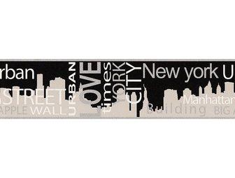 LIVING WALLS LIVINGWALLS sieninių tapetų juosta »Bo...