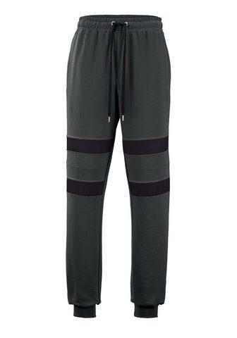 MEN PLUS BY HAPPY SIZE Sportinės kelnės iš grynos medvilnė