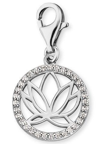 Кулон »Charm Lotus Silber с Zirk...