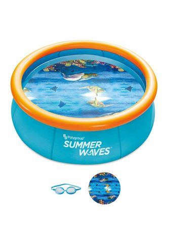 SUMMERWAVES Quick-Up baseinas »Set 244« su filtrav...