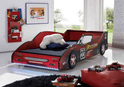 Begabino Autobett, inklusive LED-Beleuchtung