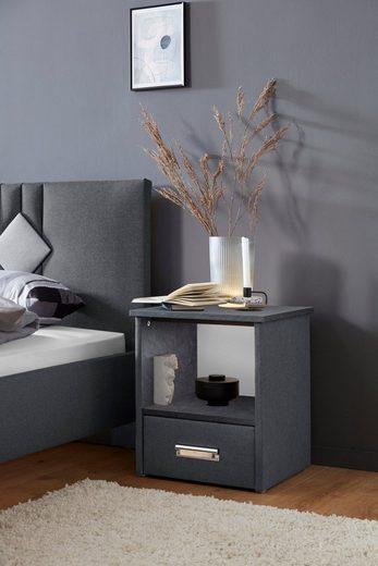 Westfalia Schlafkomfort Nachtkonsole »Brilon«, wahlweise mit indirekter LED-Beleuchtung