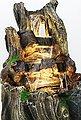 Arnusa Gartenbrunnen »großer Wasserfall Springbrunnen«, (Komplett-Set), mit LED Beleuchtung in Warmweiß, Bild 4
