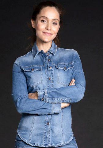 Please Jeans Please Džinsai Jeansbluse »C 0FY« im t...