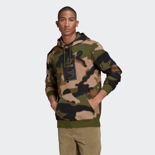 adidas Originals Kapuzensweatshirt »CAMO AOP HOODIE«