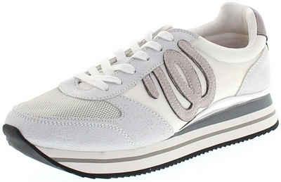 Wrangler »JUNGLE White Damen Low-Top Sneaker Weiss« Sneaker