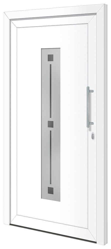 RORO Türen & Fenster Haustür »Otto 4«, BxH: 110x210 cm, weiß, ohne Griff