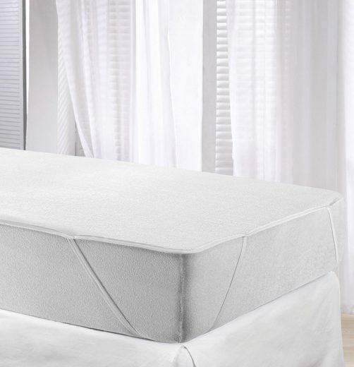 Matratzenauflage »GreenWave Protector« Jekatex, wasserdicht & kochfest bis 95 °c, mit zusätzlicher, atmungsaktiver Membrane