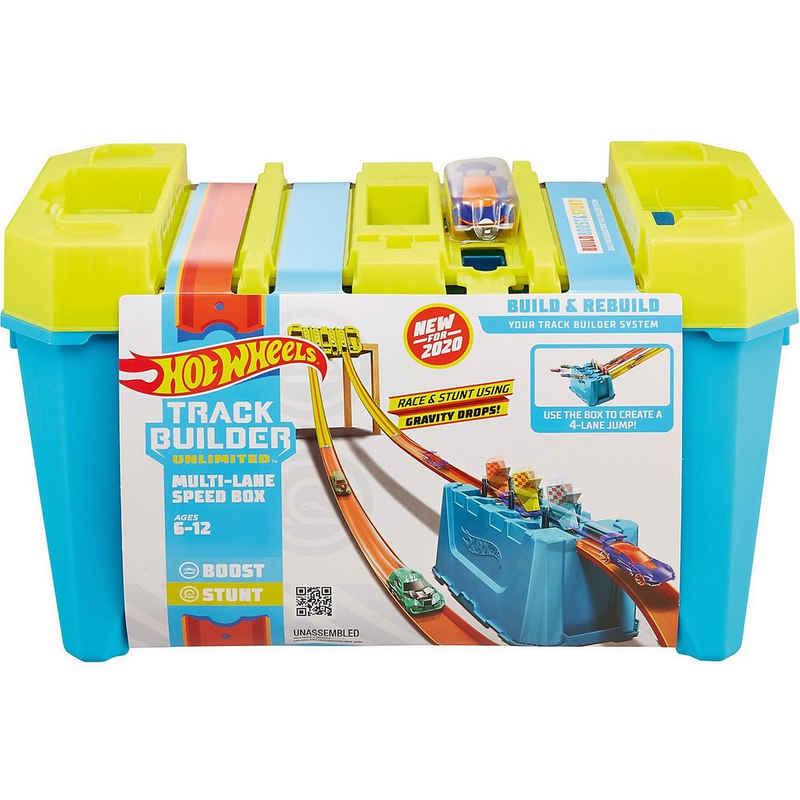 Mattel® Autorennbahn »Hot Wheels Track Builder Unlimited Mehrspurige«