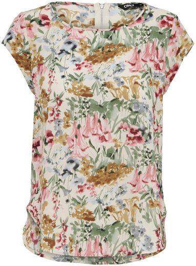 Only Shirtbluse »ONLVIC« in verschiedenen Allover-Prints