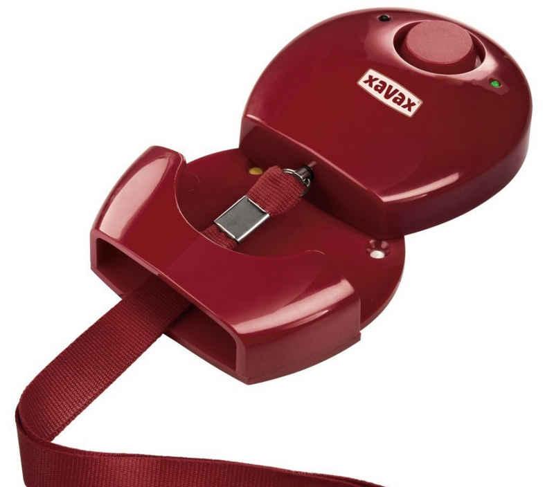 Hama »Hama Personen-Alarm Rot Hand-Alarm Alarmanlage Notfall-Alarm Panik Schutz-Alarm Einbrecher« Alarmsirene (einfache Installation, LED-Außenleuchte, Stift-Mechanismus)