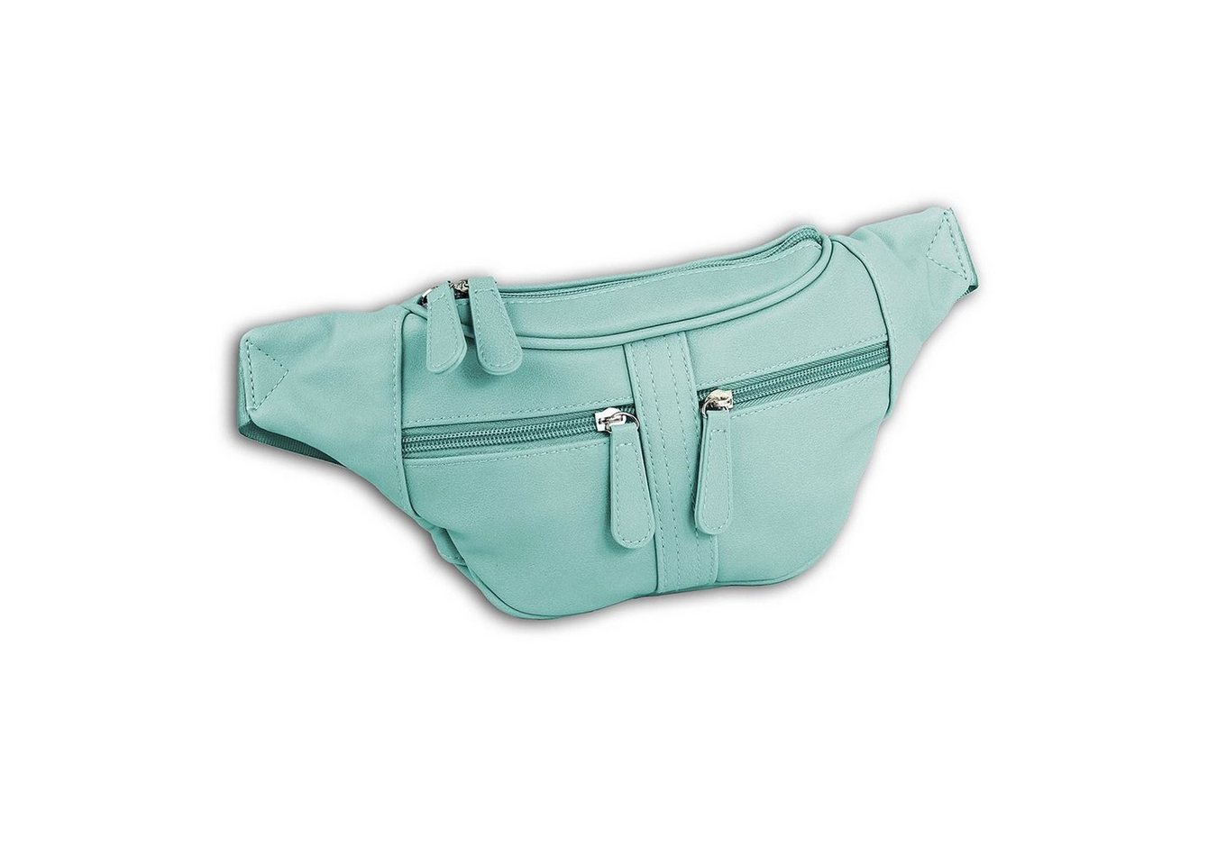 new bags -  Gürteltasche »OTD5023X  Damen Hüfttasche Gürteltasche« (Gürteltasche), Damen, Jugend Tasche mint, ca. 35cm x ca. 5cm