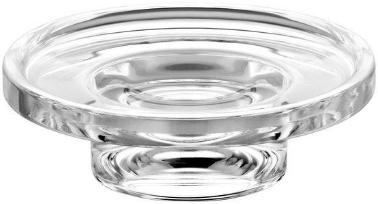 Keuco Seifenschale, Breite: 9 cm, Ø 11,50 cm, Echtkristall-Glas, lose