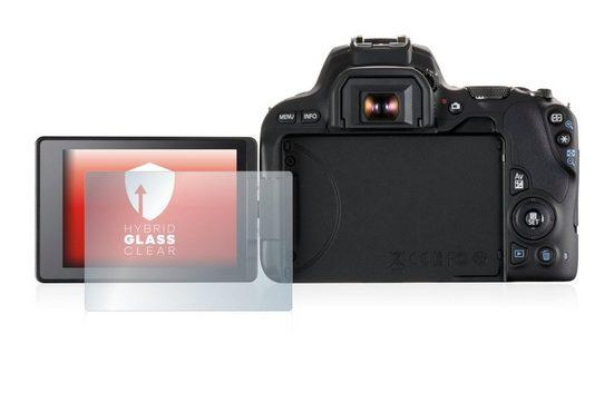 upscreen Schutzfolie »Panzerglasfolie für Canon EOS 200D«, Schutzglas Glasfolie klar
