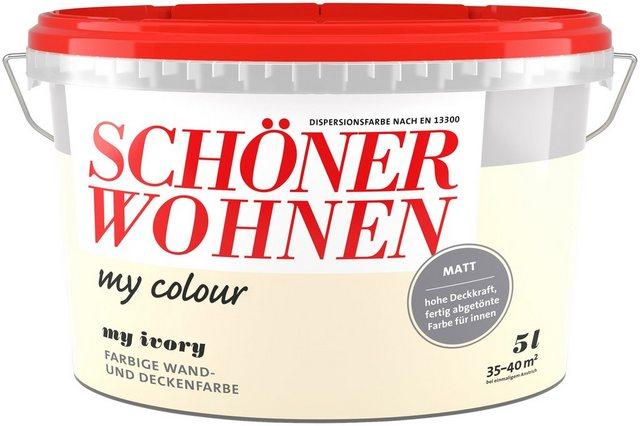 Schöner Wohnen Innenfarbe my colour, my ivory