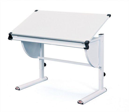 ebuy24 Schreibtisch »Cert Schreibtisch weiss .«