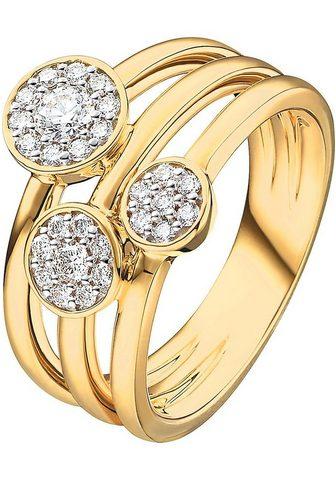 CHRIST Žiedas su deimantais »32005280«